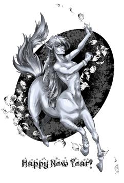 2014: Wood Horse (Clip Studio, 2013)