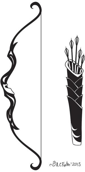 Bow/Quiver (Illustrator 2013)