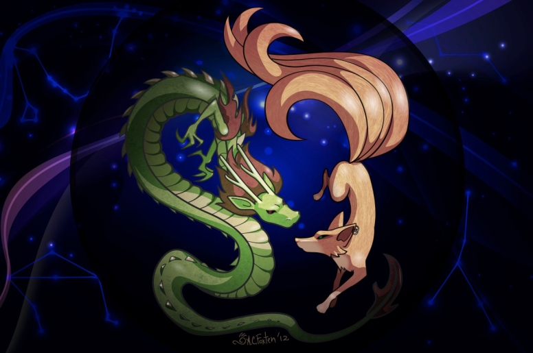 Water Dragon Fire Fox (Illustrator, 2012)